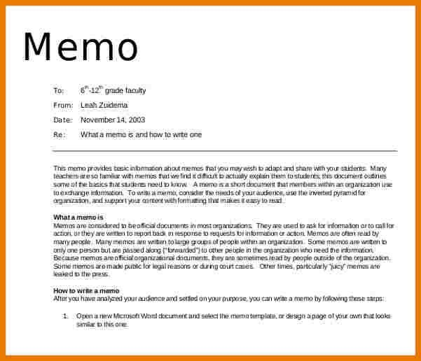 Formal MemoFormal Memo. Audience Analysis Essay Example Essay ...