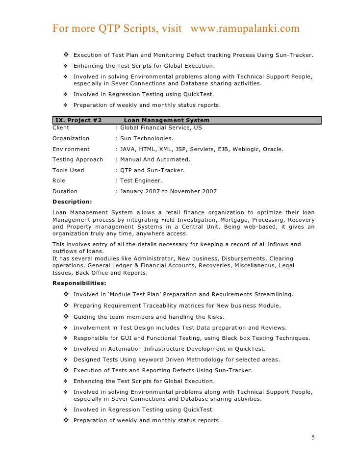 Download Environmental Test Engineer Sample Resume ...