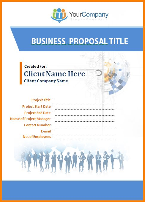 7+ business proposal template word | Proposal Template 2017