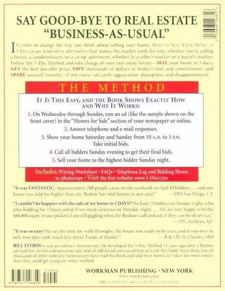 The Official Site of the 5-Day Method and the Book How to Sell ...