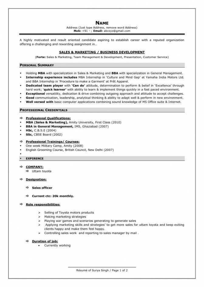 Surprising Most Current Resume Format Brefash Current Resume ...