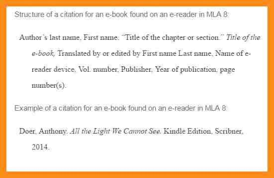7+ mla 8 sample works cited | resume setups