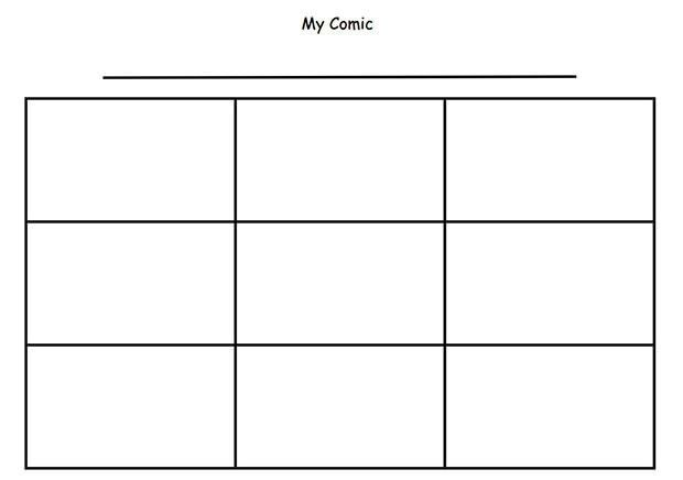 Comic Strip Template | onlinecashsource
