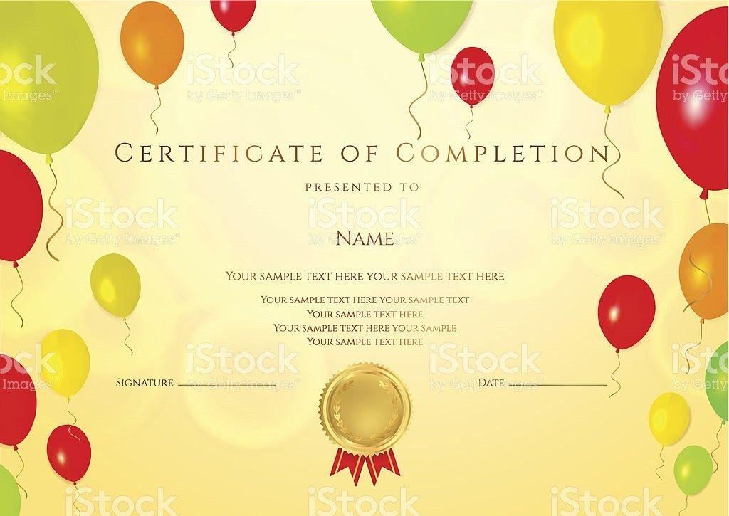 Certificate Diploma stock vector art 188147487 | iStock