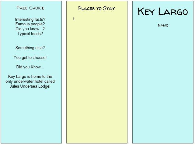 11 Free Sample Travel Brochure Templates – Printable Samples