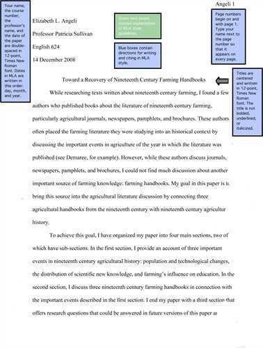 Graduate admissions essay heading