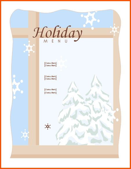 5+ free christmas templates for word | Survey Template Words