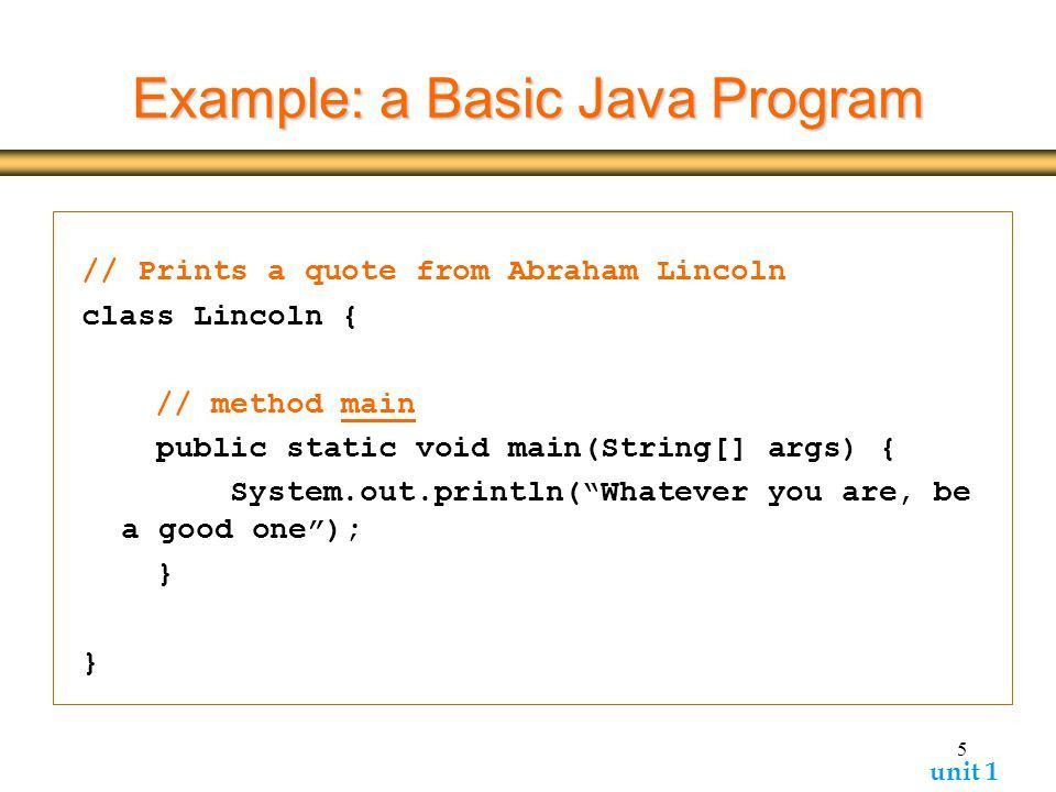 Outline Java program structure Basic program elements - ppt video ...