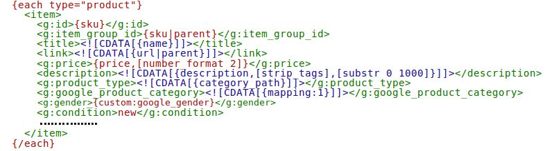 How to configure XML Feed - Advanced Product Feeds documentation