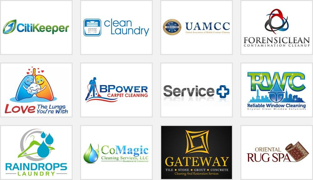 How to Have a Clean Impact with Your Cleaning Service Logo