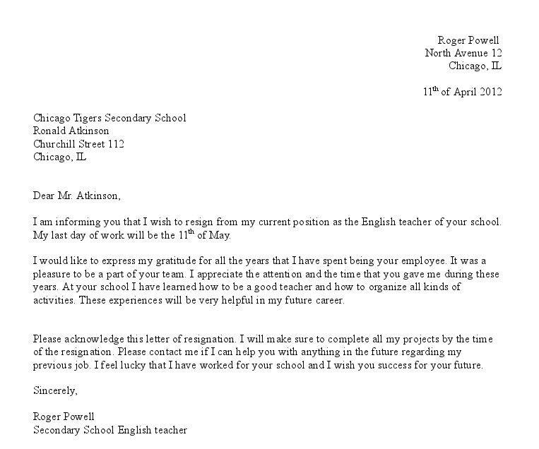 Professional Letter Template Selonjoran Formal Letter Template ...