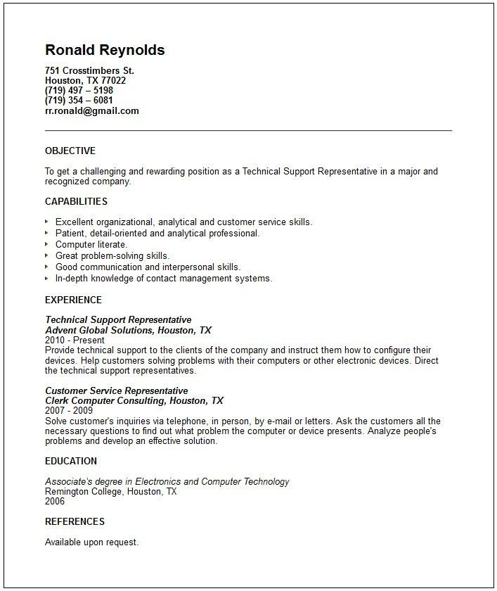 Collection of Solutions Cover Letter For Technical Support ...