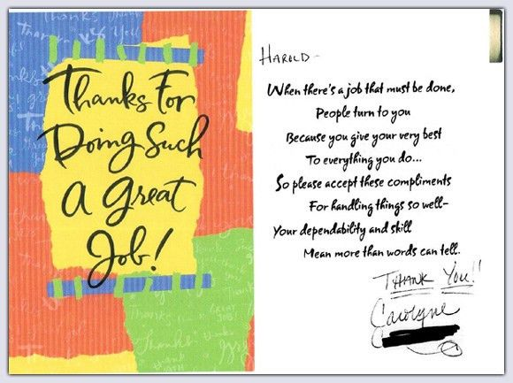 Thank You Notes | Illinois DUI Lawyer