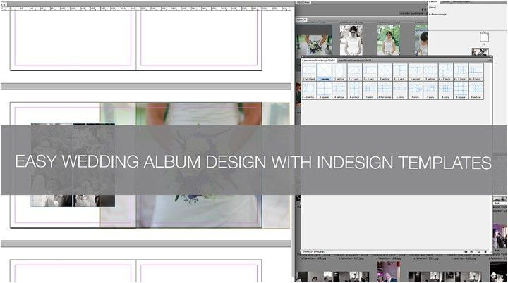 Q&A: How to create a wedding album in InDesign using templates ...