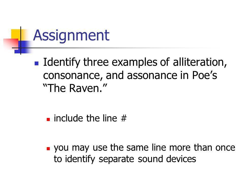 Alliteration, Consonance, Assonance - ppt video online download