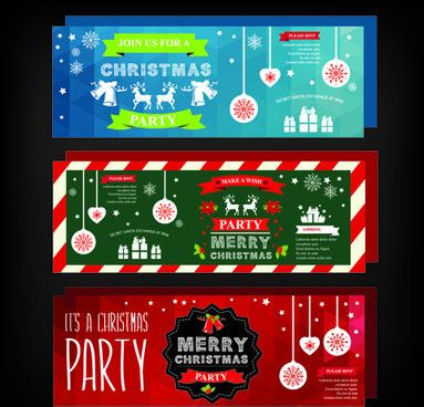 Free christmas party invitation clip art free vector download ...