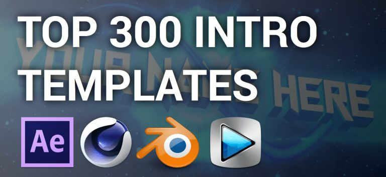 Top 300 Intro Templates of 2015-2016 (After Effects, Cinema 4D ...