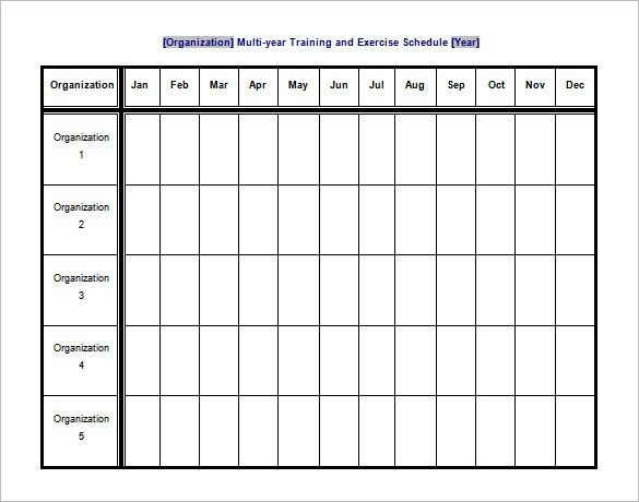 Fitness Plan Template. Awesome Workout Program Sheet Images ...
