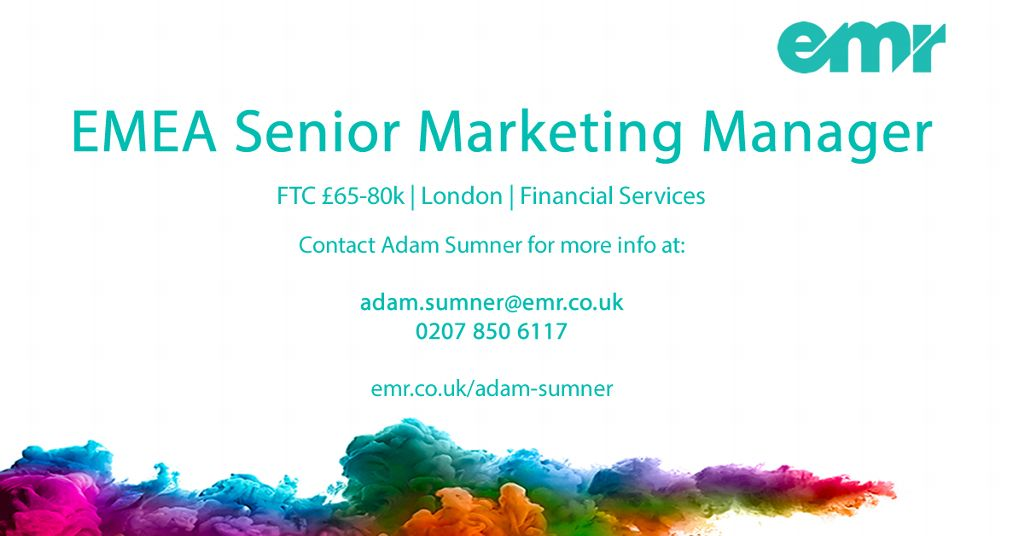 EMR | Specialist in Marketing Recruitment | LinkedIn