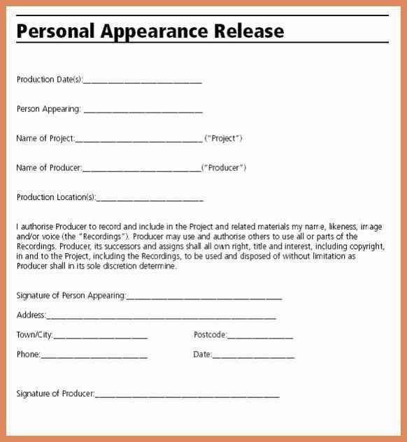 Letter Of Release Form   Job.billybullock.us