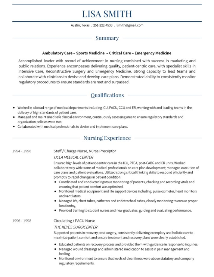 Online CV Builder and Professional Resume CV Maker - VisualCV