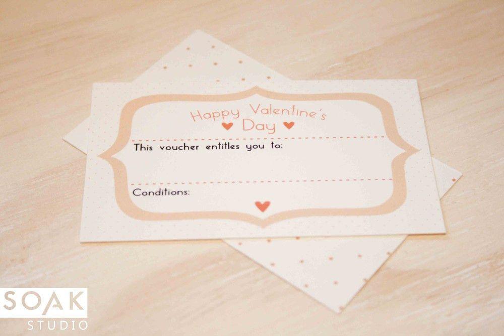 FREE Valentine's Day Printable Vouchers — SOAK STUDIO