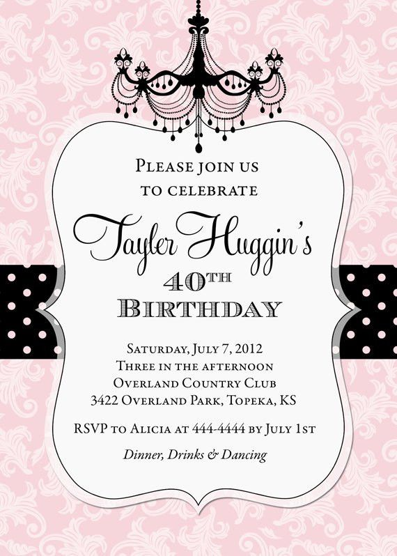9 Birthday Invitation Templates - Excel PDF Formats