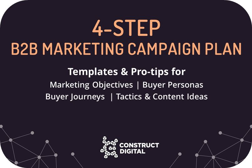 Download Your 4-Step B2B Marketing Campaign Planning Template