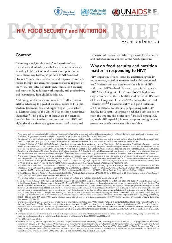 UNAIDS publications | UNAIDS