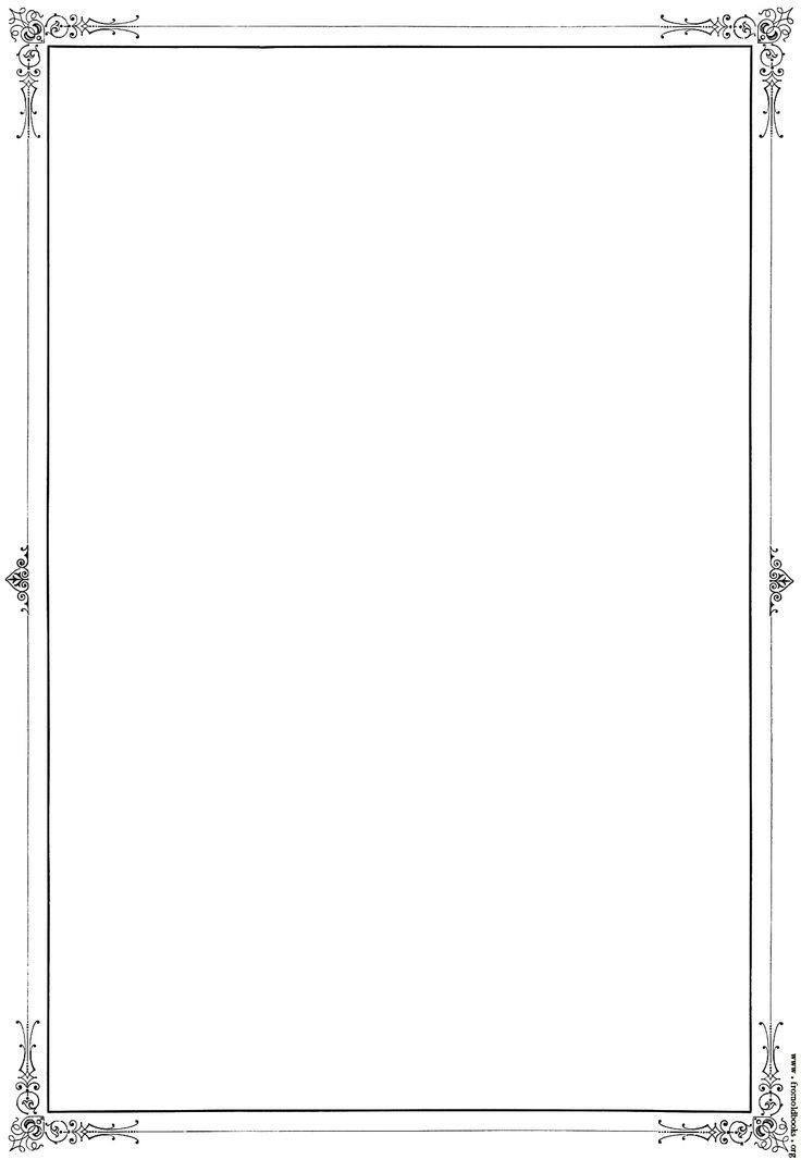 The 25+ best Page borders ideas on Pinterest | First page ...