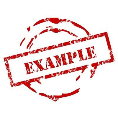 EXAMPLES - alisen berde