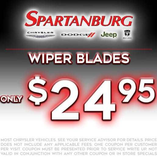 Service Specials | Spartanburg Chrysler Dodge Jeep | Greer