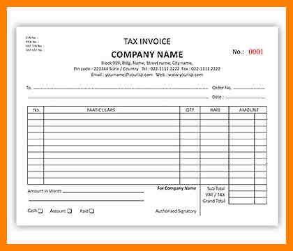 6+ bill book design templates | grocery-clerk