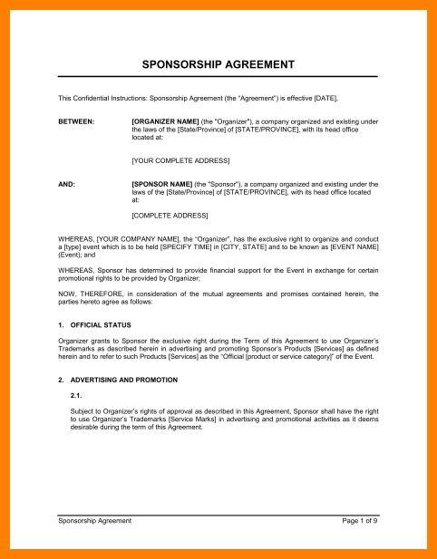 12+ endorsement contract sample | sephora resume