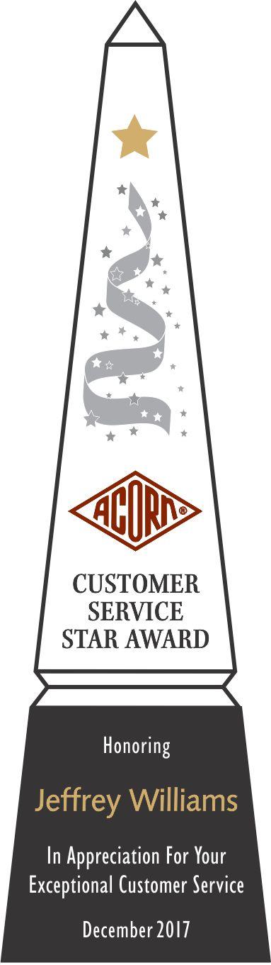 Customer Service Star Award Sample (#073-2) | Wording Ideas | DIY ...