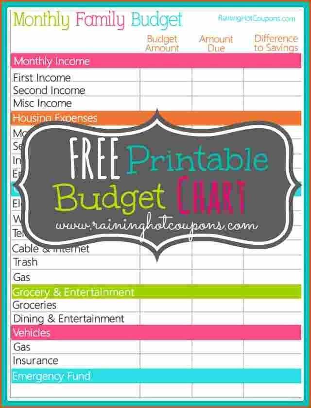 Monthly Budget Template. Monthly Budget Template Free_6 Jpg ...