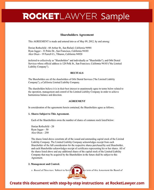 Investment Agreement.Sample Investors Agreement Form Template.png ...