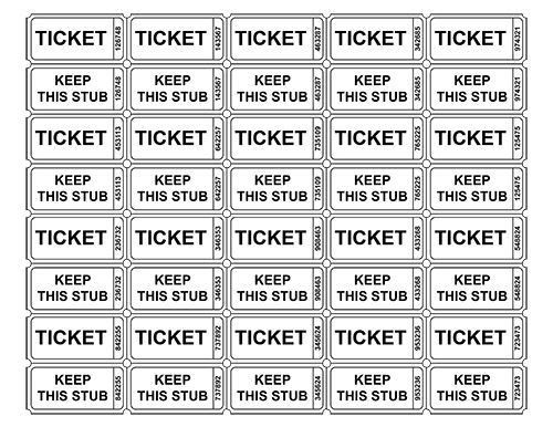 Ticket Printable Best 25 Printable Tickets Ideas On Pinterest – Tickets Printable