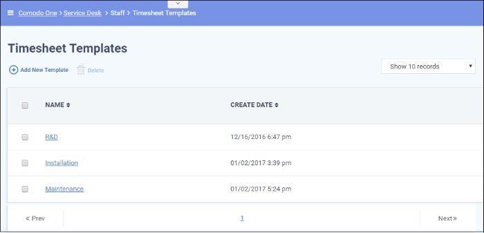 Time Sheet Templates, Staff Management Software, Service Desk ...
