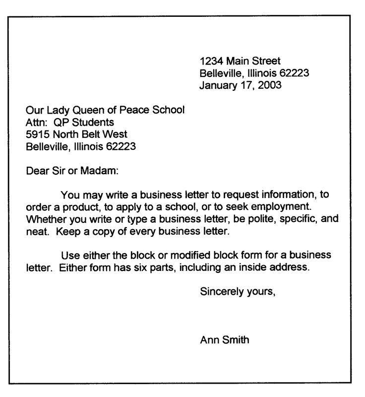7 best Business letters images on Pinterest | Business letter ...