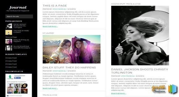 17 Best Fashion & Magazine Blogger Templates 2017 - Useful Blogging