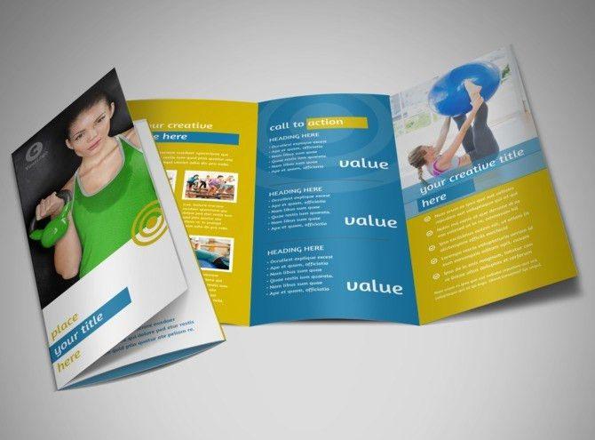 Core Fitness Gym Brochure Template | MyCreativeShop