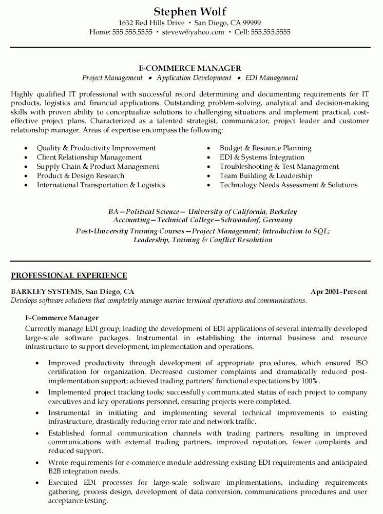 Resume Sample Personal Military Resume Sales Professional Resume ...