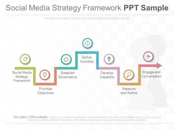 social media strategy presentation template social media ...