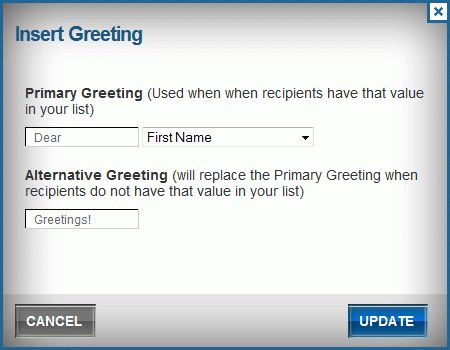 Benchmark Email New Feature: Add Personalized Greetings