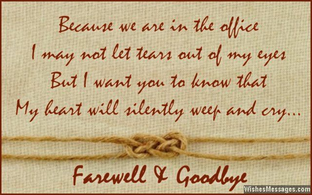 Farewell Messages for Colleagues: Goodbye Quotes for Co-Workers ...