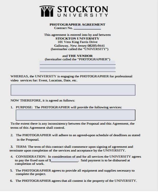 Vendor Contract Template | Free & Premium Templates