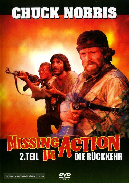Missing in Action 2: The Beginning German dvd cover