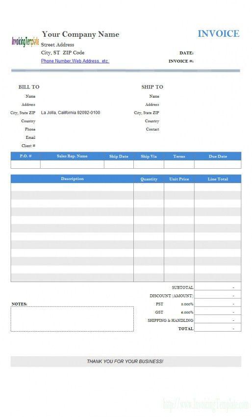 Simple Invoice Creator Template Ideas Maker Pdf ~ Sanusmentis ...