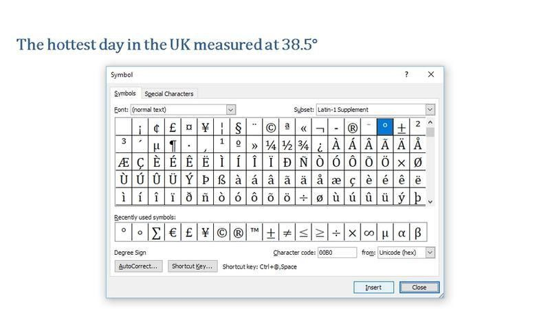 Degrees In Microsoft Word | Jobs.billybullock.us